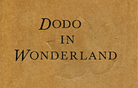 Dodo in Wonderland